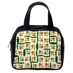 Plants And Flowers Classic Handbags (one Side)