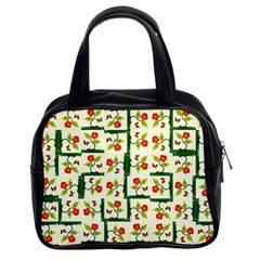 Plants And Flowers Classic Handbags (2 Sides)