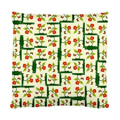 Plants And Flowers Standard Cushion Case (two Sides)