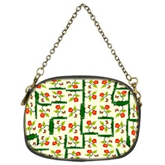 Plants And Flowers Chain Purses (two Sides)