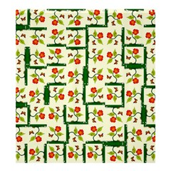 Plants And Flowers Shower Curtain 66  X 72  (large)