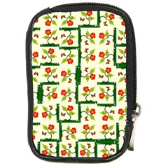 Plants And Flowers Compact Camera Cases