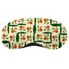 Plants And Flowers Sleeping Masks