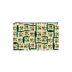 Plants And Flowers Cosmetic Bag (small)