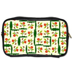 Plants And Flowers Toiletries Bags 2 Side