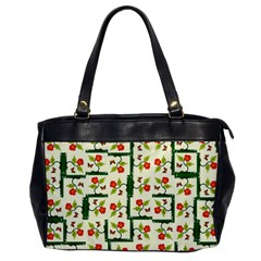 Plants And Flowers Office Handbags