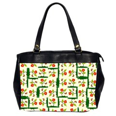 Plants And Flowers Office Handbags (2 Sides)