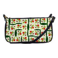 Plants And Flowers Shoulder Clutch Bags