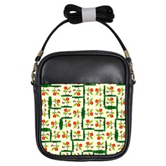 Plants And Flowers Girls Sling Bags
