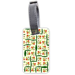 Plants And Flowers Luggage Tags (one Side)