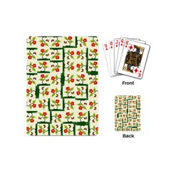 Plants And Flowers Playing Cards (mini)