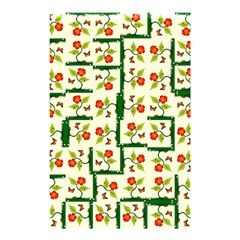 Plants And Flowers Shower Curtain 48  X 72  (small)