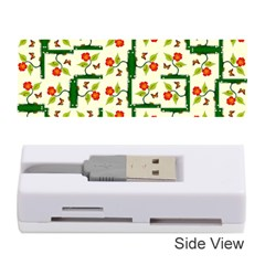 Plants And Flowers Memory Card Reader (stick)