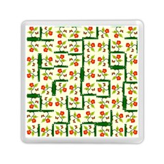 Plants And Flowers Memory Card Reader (square)