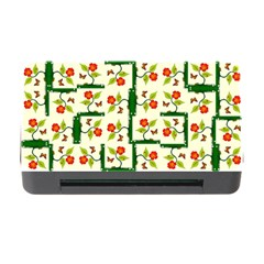 Plants And Flowers Memory Card Reader With Cf