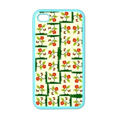 Plants And Flowers Apple Iphone 4 Case (color)