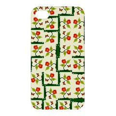 Plants And Flowers Apple Iphone 4/4s Hardshell Case