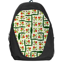 Plants And Flowers Backpack Bag