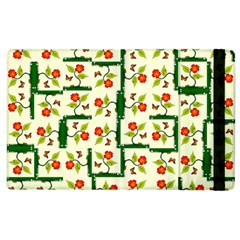 Plants And Flowers Apple Ipad 2 Flip Case