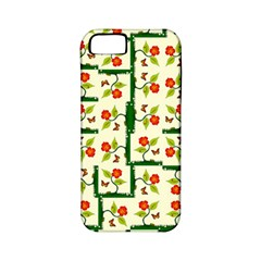 Plants And Flowers Apple Iphone 5 Classic Hardshell Case (pc+silicone)