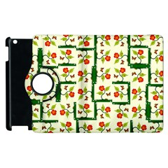 Plants And Flowers Apple Ipad 3/4 Flip 360 Case