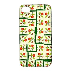 Plants And Flowers Apple Iphone 4/4s Hardshell Case With Stand