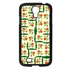 Plants And Flowers Samsung Galaxy S4 I9500/ I9505 Case (black)