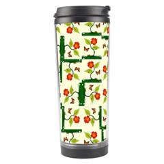Plants And Flowers Travel Tumbler