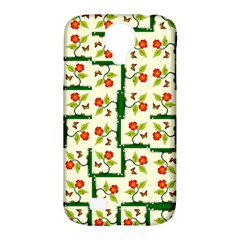 Plants And Flowers Samsung Galaxy S4 Classic Hardshell Case (pc+silicone)