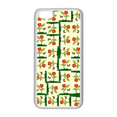 Plants And Flowers Apple Iphone 5c Seamless Case (white)