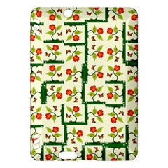 Plants And Flowers Kindle Fire Hdx Hardshell Case