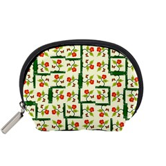 Plants And Flowers Accessory Pouches (small)