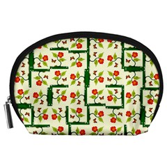 Plants And Flowers Accessory Pouches (large)