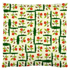 Plants And Flowers Standard Flano Cushion Case (one Side)