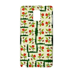 Plants And Flowers Samsung Galaxy Note 4 Hardshell Case