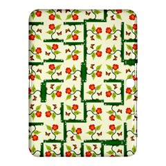 Plants And Flowers Samsung Galaxy Tab 4 (10 1 ) Hardshell Case