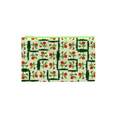 Plants And Flowers Cosmetic Bag (xs)