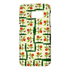 Plants And Flowers Samsung Galaxy S7 Hardshell Case