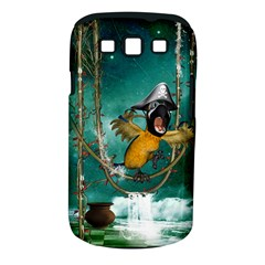 Funny Pirate Parrot With Hat Samsung Galaxy S Iii Classic Hardshell Case (pc+silicone)
