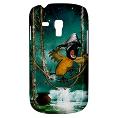 Funny Pirate Parrot With Hat Galaxy S3 Mini