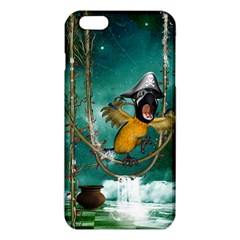 Funny Pirate Parrot With Hat Iphone 6 Plus/6s Plus Tpu Case