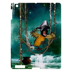 Funny Pirate Parrot With Hat Apple Ipad 3/4 Hardshell Case