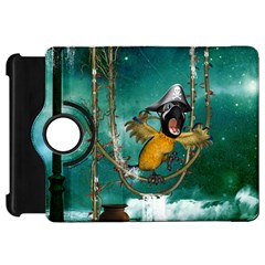 Funny Pirate Parrot With Hat Kindle Fire Hd 7