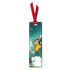 Funny Pirate Parrot With Hat Small Book Marks