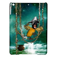 Funny Pirate Parrot With Hat Ipad Air Hardshell Cases