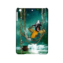 Funny Pirate Parrot With Hat Ipad Mini 2 Hardshell Cases