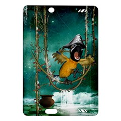 Funny Pirate Parrot With Hat Amazon Kindle Fire Hd (2013) Hardshell Case