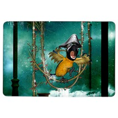 Funny Pirate Parrot With Hat Ipad Air 2 Flip