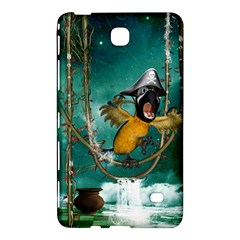 Funny Pirate Parrot With Hat Samsung Galaxy Tab 4 (8 ) Hardshell Case