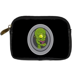 Zombie Pictured Illustration Digital Camera Cases